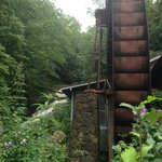 Mill wheel and falls