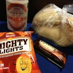 A thoughtful packed lunch for our Ferry ride.