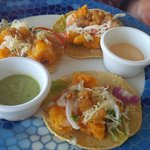 Shrimp Taco:  Pool bar - Lunch