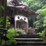 local shinto shrine near hotel