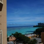 The view from my hotel room at Outrigger Guam