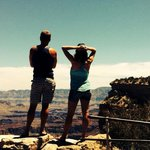 The day after our epic 11.5hr hike from South Kaibab to Bright Angel. An unforgettable, amazing