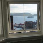 Oban harbour view from our room