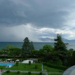 Storm on Lake Geneva