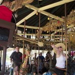 "Ride the Carousel - and play ""Grab The Ring"""