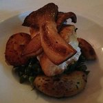 NC Golden Tile Fish With King Trumpet Mushrooms (entree)