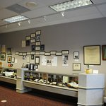 Exhibits of the museum.