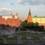 View taken from Kremlin studio suite window