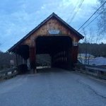 Covered Bridge in Merideth, NH