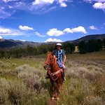 Riding in Big Sky Country!