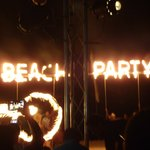 Beach Party on Beach