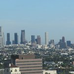 LA downtown view SE from room