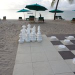 Giant draughts area