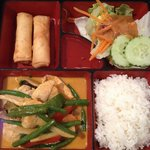 Red Curry Chicken Lunch Box.