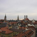 View from the terrace toward Marienplatz