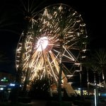 Ferris wheel anchors the Irvine Spectrum Center