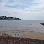 on the walk from the hotel towards torquay
