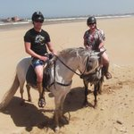 Horse trek with Mogador and Cobra