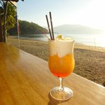 beachfront cocktails