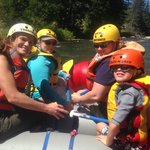 Montana Whitewater Rafting with Family