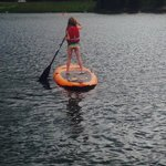Paddle Board in kids program