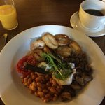 Vegetarian Hot Breakfast - excellent!!!