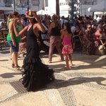 Flamenco Dancer at Feria