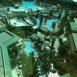 View of pool complex from our room