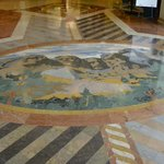 Floor tiles at entrance