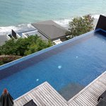 Full 18 meter private pool in villa.  Massive an perfect t for swimming laps