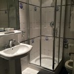Large tiled bathrooms that are clean and have incredible details in the tile. I am also very ple