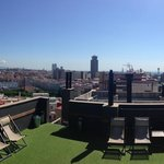 Panoramic view from the Solarium