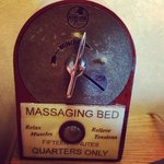 Massging bed