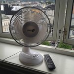 The not so efficient fan, instead of air-conditioning