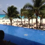 view from yucatan pool bar