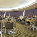 Unparalleled DC monument views from Skydome Lounge, the area's only revolving rooftop restaurant