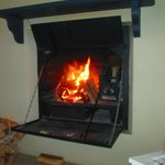 Fireplace in Vineyard Cottages