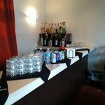 Bar in executive lounge