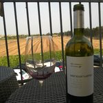 Enjoying a great Sicilian wine on the fantastic balcony. Get your bottle opened in the restauran
