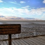 Badwater, 282 feet below sea level