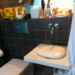 bathroom deluxe room - sink