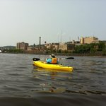 Kayaking the Duluth shoreline with The Duluth Experience