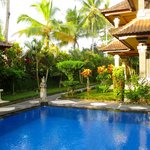 Luxurious grounds and pool area of Villa I.