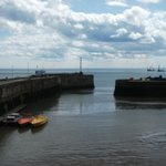 Bridlington harbour 5 minute walk from Hotel