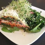 Raw Lasagne with Kale