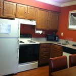 Kitchen of 2 bed/2 bath suite