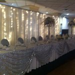 Stunning head table