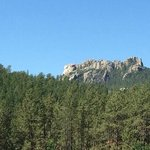 Mt Rushmore as seen from K Bar S Lodge
