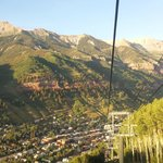 Gondola ride to Telluride
