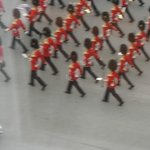 Governor General's Guards passing below my window